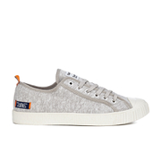 Superdry Men's Super Sneaker Low Top Trainers - Light Grey Marl/Off White