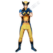 Morphsuit Adults Deluxe Zapper Marvel Wolverine
