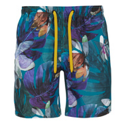 Bjorn Borg Men's Printed Swim Shorts - Lake Blue