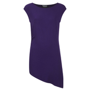 Barbour International Women's Leaf Spring Asymmetric Top - Royal Purple