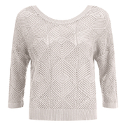 ONLY Women's Noah Short Knitted Pullover - Cloud Dancer