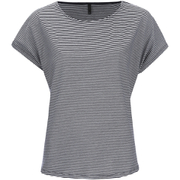 ONLY Women's Love Stripe Loose Top - Cloud Dancer