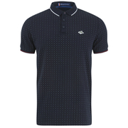 Le Shark Men's Brushwood Pique Polo Shirt - True Navy