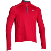 Under Armour Men's Launch Long Sleeve 1/4 Zip Top - Red