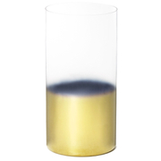 Two-Tone Glass Tea Light Holder