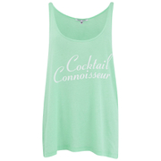 Wildfox Women's Cocktail Connoisseur Shark Tank Top - Fresh Mint