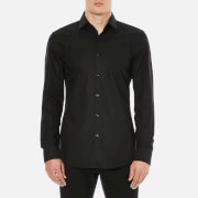 HUGO Men's C-Jenno Long Sleeve Shirt - Black