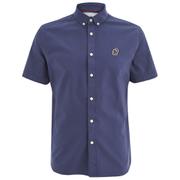 Penfield Men's Keystone Short Sleeve Shirt - Navy