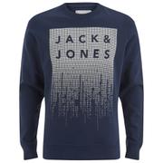 Jack & Jones Men's Core Noise Sweatshirt - Navy Blazer
