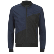 Jack & Jones Men's Core Fly Bomber Jacket - Navy Blazer
