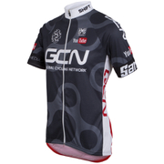 Santini GCN Classic Short Sleeve Jersey 2016 - Grey/Red