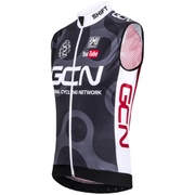Santini GCN Sleek Windstopper Gilet - Black