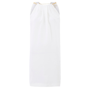 MICHAEL MICHAEL KORS Women's Chain Neck Dress - White
