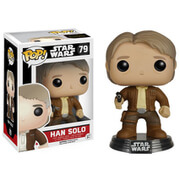 Star Wars The Force Awakens Han Solo Funko Pop! Bobblehead Figuur