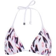 Paul Smith Accessories Women's Classic Tri Bikini Top - Leopard Print