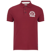 Produkt Men's Embroidered Polo Shirt - Rio Red