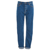Marc Jacobs Women's Relaxed Denim Jeans - Bright Blue