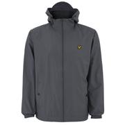 Lyle & Scott Men's Zip Through Hooded Jacket - Graphite