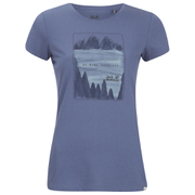 Jack Wolfskin Women's Valley T-Shirt - Blue Indigo