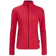 Jack Wolfskin Women's Fleece Performance Jacket - Hibiscus Red