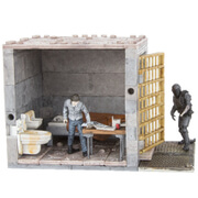 McFarlane The Walking Dead Lower Prison Cells Construction Set
