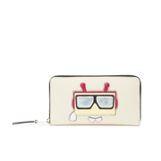 Karl Lagerfeld Women's K/Robot Zip Purse - Cream