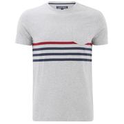 Tommy Hilfiger Men's Karl Striped T-Shirt - Cloud Heather