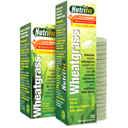 Nutrifiz Effervescent Wheatgrass, Lemon, 10 Tablets