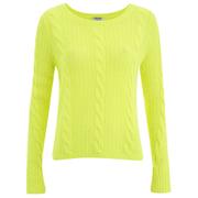 Cocoa Cashmere Women's Neon Jumper - Yellow