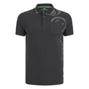 Crosshatch Men's Pacific Polo Shirt - Magnet