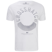 Crosshatch Men's Sunrise T-Shirt - White