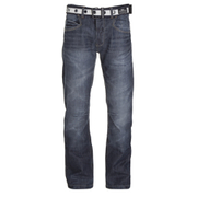 Crosshatch Men's New Baltimore Denim Jeans - Dark Wash