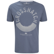 Crosshatch Men's Sunrise T-Shirt - Vintage Indigo
