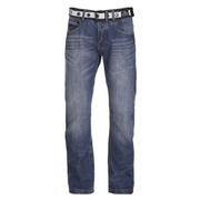 Crosshatch Men's New Baltimore Denim Jeans - Mid Wash