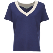 Selected Femme Women's Sonia Knitted Top - Patriot Blue