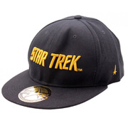 Star Trek Gold Text Logo Baseball Cap