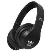 adidas Originals by Monster Headphones (3-Button Control Talk & Passive Noise Cancellation) - Black