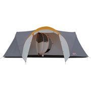 Coleman Cortes 8 Plus Tent (6 Person) - Grey/Orange