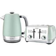 Breville Strata Collection Kettle and Toaster Bundle - Green