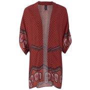 MINKPINK Women's Rosewater Open Armhole Kimono Cape - Multi