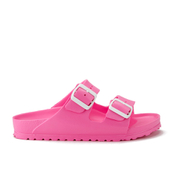 Birkenstock Women's Arizona Slim Fit Double Strap Sandals - Neon Pink