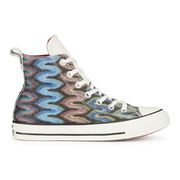 Converse x Missoni Women's Chuck Taylor All Star Hi-Top Trainers - Auburn/Black