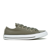Converse Women's Chuck Taylor All Star Oil Slick Toe Cap Ox Trainers - Charcoal/Egret