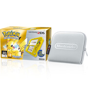Nintendo 2DS Special Edition: Pokémon Yellow Version  + Silver Case