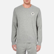 Converse Men's Crew Neck Sweatshirt - Vintage Grey Heather