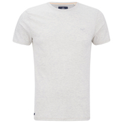 Threadbare Men's William Crew Neck T-Shirt - Ecru Marl