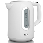 Akai A10001 Jug Kettle - White - 1.7L