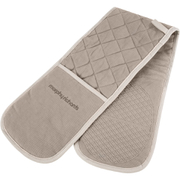 Morphy Richards 973513 Double Oven Glove - Stone - 18x88cm