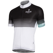 Bianchi Men's Ardila1 Short Sleeve Jersey - White/Black