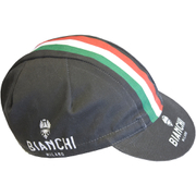 Bianchi Men's Neon Cotton Cap - Black